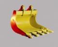 باکت دندانه دار بیل مکانیکی